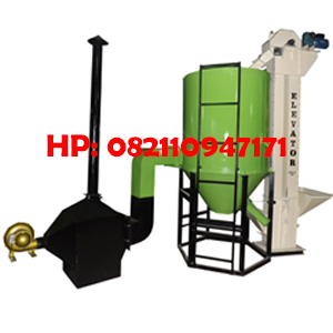 Mesin Pengering Padi ( Vertical Dryer) Kapasitas 750 Kg/Batch