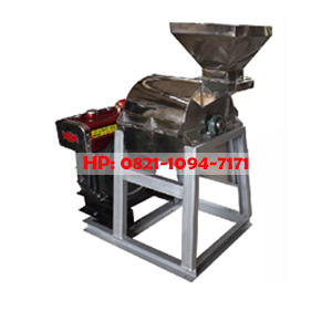 Mesin Penepung (Hammer Mill) Stainless Steel