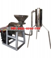 Mesin Penepung With Cyclone (Hammer Mill With Cyclone) Material Stainless Steel