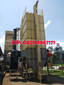 Mesin Pengering Jagung (Vertical Dryer) Kapasitas 10.000 Kg/Batch