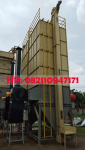 Mesin Pengering Jagung (Vertical Dryer) Kapasitas 6.000 Kg/Batch