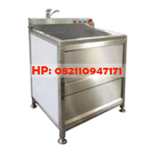 Air Bubble Vegetable Washer Cap 200-300 kg/h